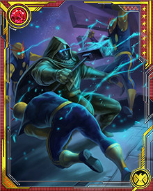 Ronan was selected as the Supreme Public Accuser after he repelled a fleet of Skrull ships attempting to enter Kree space.
