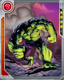 Bruce Banner's transformation into the Hulk is instigated by stress and anger.  Once he transforms into the Hulk, he becomes a whirlwind of destruction. You wouldn't like him when he's angry.
