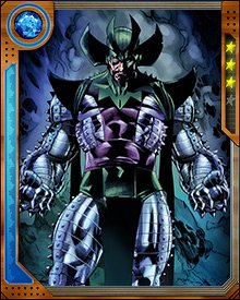 Diablo is a long-time adversary of the Fantastic Four, dating from their first battle when Ben Grimm freed him from his crypt. On one occasion however, he teamed up with the Fantastic Four to battle the demon Shuma-Gorath.