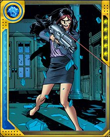 Victoria Hand's presence in the S.H.I.E.L.D. forces drove Spider-Man out of the New Avengers at first, even though his conscience eventually brought him back. She is a polarizing figure among the Avengers, who don't trust her because even when she's on their side, she's always working an angle of her own.