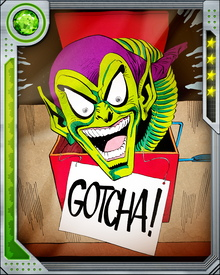 There once was an agent of S.H.I.E.L.D. / Who asked that this card be revealed / You thought it was Hulk / But I fooled you—don't sulk! / You can get your revenge in the field!
