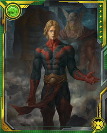 I am Magus. He is me. But I must be Adam Warlock instead, and fight to save the universe. We are Guardians of the Galaxy, and everything depends on our valor.