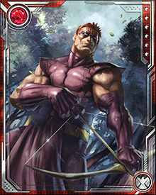 Barney Barton is one of the greatest archers in the world, perhaps only rivaled by his brother, Clint Barton—Hawkeye. He was trained in the art of the bow by the same man who taught his brother.