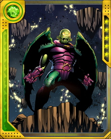 I am Annihilus... Lord of the Negative Zone! Annihilus... the Living Death that Walks!