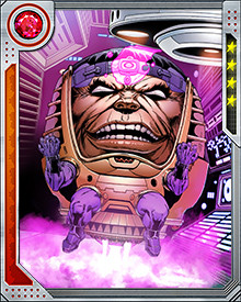 Once the Serpent was defeated, MODOK Superior returned to his original ambition: to eclipse the original MODOK in every way. This involved retaking control of A.I.M., a goal that so obsessed MODOK Superior he agreed to ally with S.H.I.E.L.D. to make it happen.