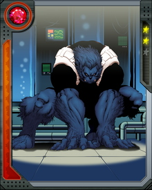 Beast is loquacious, funny, angry, caustic, and lovable from moment to moment. He likes to crack literary jokes. He's also one of the most versatile scientific brains on the X-Men, or anywhere else. It's easy to think he's an animal, but that would be a mistake. It's a mistake people only make once.