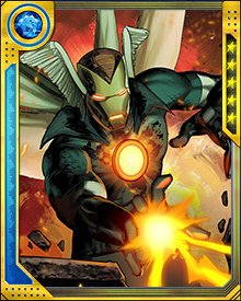 Once it has used a particular power, the Super-Adaptoid stores the template for that power in its memory. Its signature weakness is that when it is forced to fight a number of opponents simultaneously, it can overwhelm itself by trying to replicate all of their powers at once. This often causes it to overload and collapse.