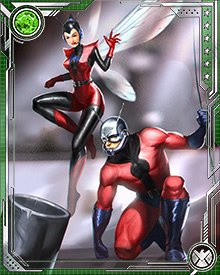Tragedy brought Janet van Dyne and Hank Pym together. The death of Janet's father led to Hank telling her about his Ant-Man identity (though she had already figured it out), and to he agreeing to become the Wasp so she could avenge her father.