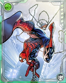 Spider-Man's spider sense allows him to perceive danger giving the hero enough time to avoid being drastically hurt in battle.