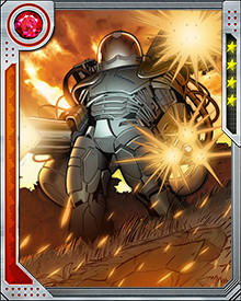 Immortal Man's suit channels some of the powers of the Apex, the Celestial-energized ideal state of Tabula Rasa. Its powers are not fully known, but the entire X-Men team could not defeat him.
