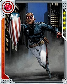 Patriot was a key leader of the Young Avengers during their fight against the Skrull Secret Invasion. The Skrulls started to overwhelm them before Nick Fury and the Secret Warriors reinforced Patriot's team and held their ground. Patriot and the Young Avengers then helped counterattack and repel the Skrulls' invasion.