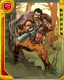 Kraven has since been resurrected by his family and has even renewed his long standing rivalry with Spider-man once again.