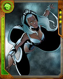 Storm puts her sense of right and wrong in front of any team or individual allegiance, up to and including her tempestuous marriage to Black Panther. She has fought with the Avengers against the X-Men, and with the X-Men against the Avengers. What guides her is her immovable moral sense and her belief that she has a responsibility to protect mutants and the powerless.