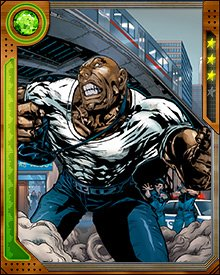 Crusher Creel briefly became a hero and fought the Red Onslaught when the Axis event destabilized a number of super-powered humans. It didn't take long though, for him to be back on the wrong side of the law.