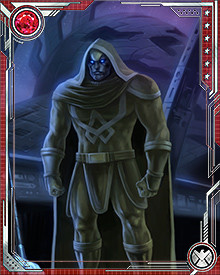 Ronan is responsible for enforcing the laws of the Kree Supreme Intelligence, a computer that collects the wisdom of the greatest minds of the Kree.