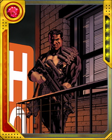 He's not normally a team player, but the Punisher has fought with different teams at times when their goals matched up with his. At one point he was recruited into General Thaddeus Ross's Thunderbolts—alongside at least two teammates he would have killed in other circumstances.