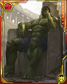 After he survived his time on Sakaar, Hulk vowed to lead the Warbound back to Earth and force the Illuminati to answer for their deeds. He flew their Stone Ship to Earth and sought out those he held responsible for his exile.
