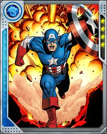 After blunting the Red Skull's first attack, Captain America lost his powers when the effects of the super-soldier serum were neutralized. He continued to lead the Avengers and recovered his strength as the head of a new team called the Astonishing Avengers.