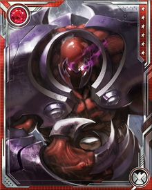 Onslaught possessed the combined abilities of Professor X, Magneto, Franklin Richards, and the X-Men. This included telepathy, telekinesis, astral projection, illusion creation, mental bolt projection, sensing mutant presences, manipulating magnetic fields, and affecting reality itself.