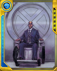 Charles Francis Xavier had a dream, where mutants and humans lived together in perfect harmony and peace, as equals. Charles used his family's fortune to found Xavier's School for Gifted Youngsters. He was responsible for the X-Men, New Mutants, hoping that they could achieve his dream.