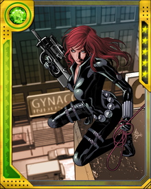 Natasha Romanova has been involved with a number of organizations during her time as the Black Widow, including the KGB, S.H.I.E.L.D., the Champions, the Avengers and the Heroes for Hire. She has also been romantically linked to a number of her fellow heroes, among them Daredevil, Hawkeye and the Winter Soldier.