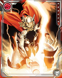 After ten years, Odin permitted Thor to regain his memories of his true identity, and restored Mjolnir to his possession. Thor is still headstrong and brash, but his experiences as Blake tempered and matured him.