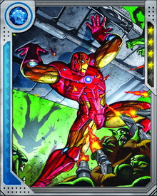 Repulsor beams use particle beam technology to repel the opponent, leaving burns, mortal wounds, and even gaping holes.