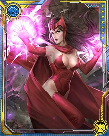 The Scarlet Witch recently cast a spell meant to affect only those who shared her bloodline. While her brother Quicksilver was affected, the man she believed to be her father--Magneto--was not.