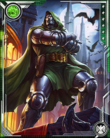 Science is not Dr. Doom's only weapon. Thanks to his gypsy heritage, he has been exposed to (and has mastered) the dark arts of sorcery. His magical gifts allow him to teleport, move between dimensions, travel through time, summon strange entities and servitors, and barrage his enemies with mystic energy.