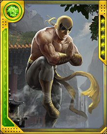 Danny Rand spends time every day focusing his internal energy and practicing the martial arts that are at the core of who he is as a hero. Maintaining the balance of physical perfection with his body and emotional calm of the mind allows him to always present himself as not just the Iron Fist, but also a master of the martial arts.