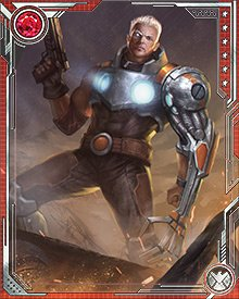 Cable's vision of the future told him that the infant Hope Summers would be key to the future of not just mutants, but all of humanity. Others, including the Marauders and Bishop, had other plans for the child, but Cable—as is often the case—trusted himself more than he did them.