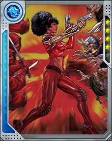 When Misty Knight first started running with Valkyrie and Dani Moonstar, she felt a little left out because she didn't have a flying horse like her fellow Fearless Defenders.