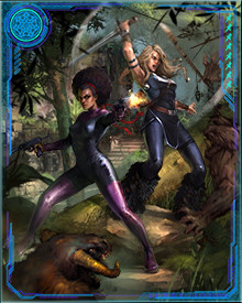 As two of the core member of the Fearless Defenders, Misty Knight and Valkyrie have faced down the Brood, undead Vikings, Doom Maidens, and the daughter of Morgan le Fay.
