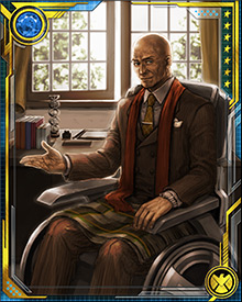 Xavier rarely takes a direct role in the X-Men's missions or combat. He prefers to play a mentor's role, helping the X-Men understand their role in society and how to control their powers.