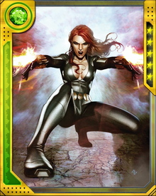 The Black Widow desired to become an Avenger, and with Hawkeye's assistance she nearly succeeded.  However, Nick Fury instead recruit her as a spy for S.H.I.E.L.D.  However she often has assisted and has even lead the Avengers on missions.