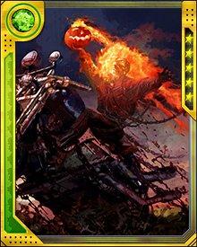 Sinners beware! Tonight, the Ghost Rider haunts the highways!