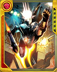 After the experience with the Iron Patriot clones, Rhodes created a force of War Machine drones and deployed then in his new role as a member of the Avengers.