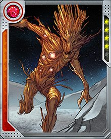 Groot can not only control existing plants, he can create new ones either from himself or from seeds and spores in his local environment. Any plant thus created is under Groot's control, giving him the ability to muster an army in moments.