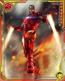 Iron Man's most recent armor innovation is called Bleeding Edge. Like the Extremis version, it is stored within his body, and can be built around him with a thought command. He has used other armors that exist as undifferentiated liquids stored in the hollows of his bones. The dangers of these armors to Stark's body occasionally lead him to remove them and return to more an external, assembled conventional armored suits.