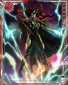 The power of her Death Touch is such that she can use it to kill any healthy Asgardian, or any other known mortal. Luckily for the inhabitants of the Marvel Universe, Hela follows what she believes to be her personal mission. She rarely strays from the realm of Asgard and even rarer still does she trouble herself with the lives of non Asgardian mortals.