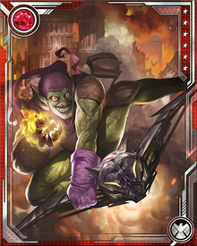 Even when Osborn is able to mostly suppress the Green Goblin personality, it is an enormous effort... and the Green Goblin is never far away, since Osborn always keeps the Goblin's glider and other equipment where he can easily access it.