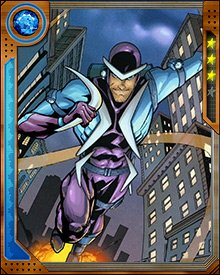 Boomerang has been a regular member of the Sinister Six in their various incarnations. Most recently he led the Sinister Six against Superior Spider-Man, and only survived because Peter Parker's consciousness stopped Otto Octavius from killing him.