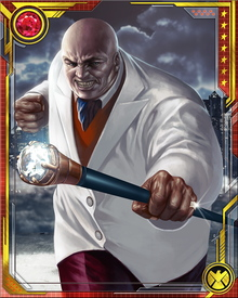 The Kingpin's desire for power no doubt stems from his impoverished childhood. He also has transformed himself from a weak and unhealthy child to a veritable mountain of muscle. In combat, he is skilled at the techniques of hapkido and judo.