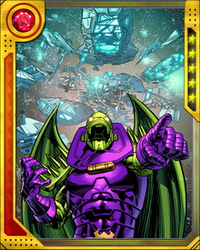 Annihilus has created an army of Scavengers from various Negative Zone beings, using a device known as the Gene Transmuter. Like the Cosmic Control Rod, it is Tyannan technology.