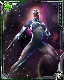 When an incident in a laboratory put Spider-Man in touch with the Uni-Power, he briefly was able to tap the powers of Captain Universe. He also had a spiffy new costume reflecting his new abilities.