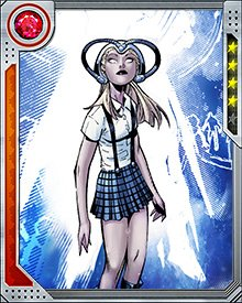Celeste is one of five sisters, the Cuckoos, who all possess vast telepathic powers and share a kind of hive mind. They were Emma Frost's prize students.