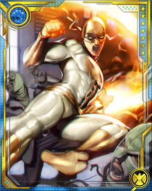Iron Fist was one of the stalwarts known as the Mighty, who defended Earth against the eight Worthy unleashed by the Asgardian god Cul, known as the Serpent.