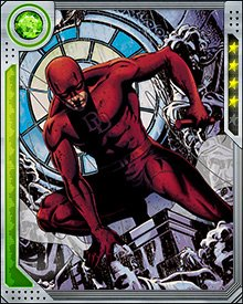 Daredevil spends time in the courtroom, on the road, working with his heroic colleagues—but he's only really at home on the streets of Hell's Kitchen, protecting the innocent and showing the guilty that if they're going to bring crime to the Kitchen, they're going to feel the heat.