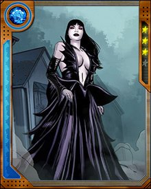 Mother of Phobos and Deimos, the Olympian gods of Fear and Terror, Nox is herself the Goddess of the Night. She changed her shape to seduce Ares and become pregnant with her twins, and uses them as an extension of her power. She is one of the seven Fear Lords who rule humankind's experience of fear.