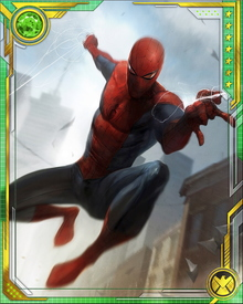 After his powers were augmented by the Queen, Spider-Man's strength was increased to twice his original limits and he was able to lift about 25 tons for a time. However, his power enhancements—including his strength—were returned to normal after his deal with Mephisto.